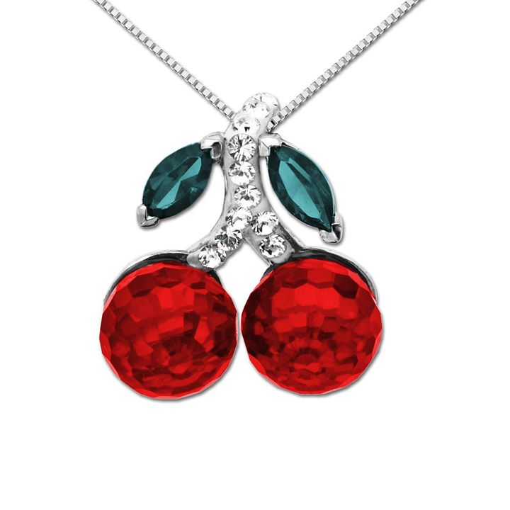 Cherry-necklace-for-woman