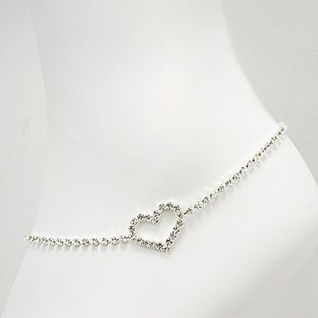 Crystal-heart-anklets-for-woman