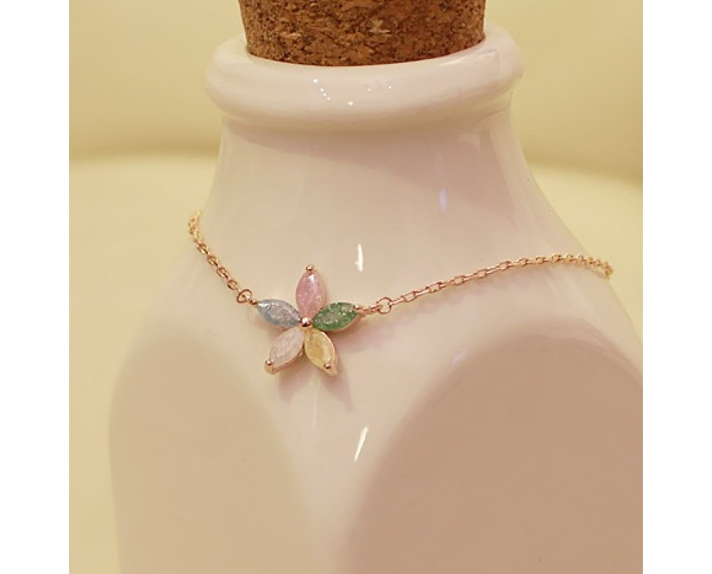 Crystalline-Petals-anklets-for-woman