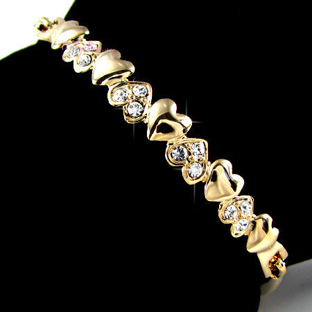 Dimond-heart-bracelets-for-women