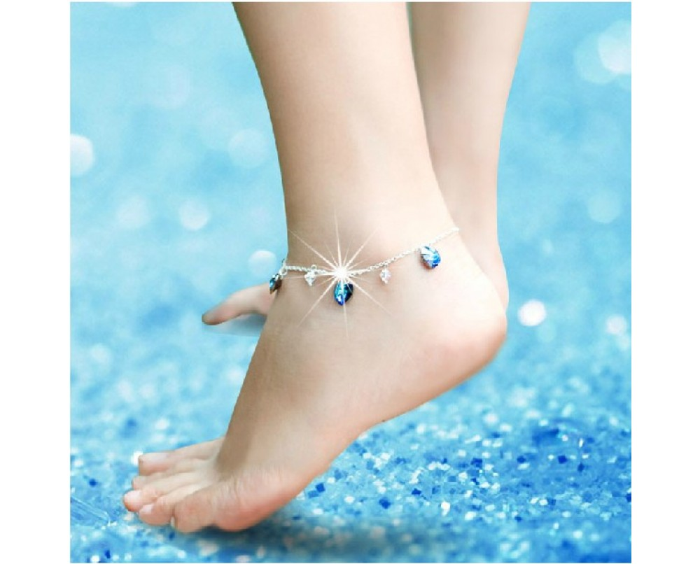 Heart-Of-Ocean-anklets-for-woman