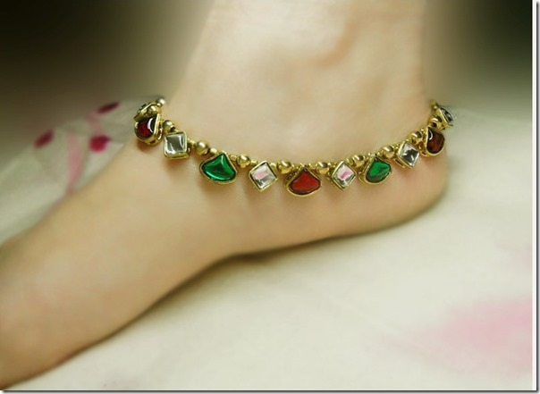 Kundan_Ruby_Anklets-for-woman