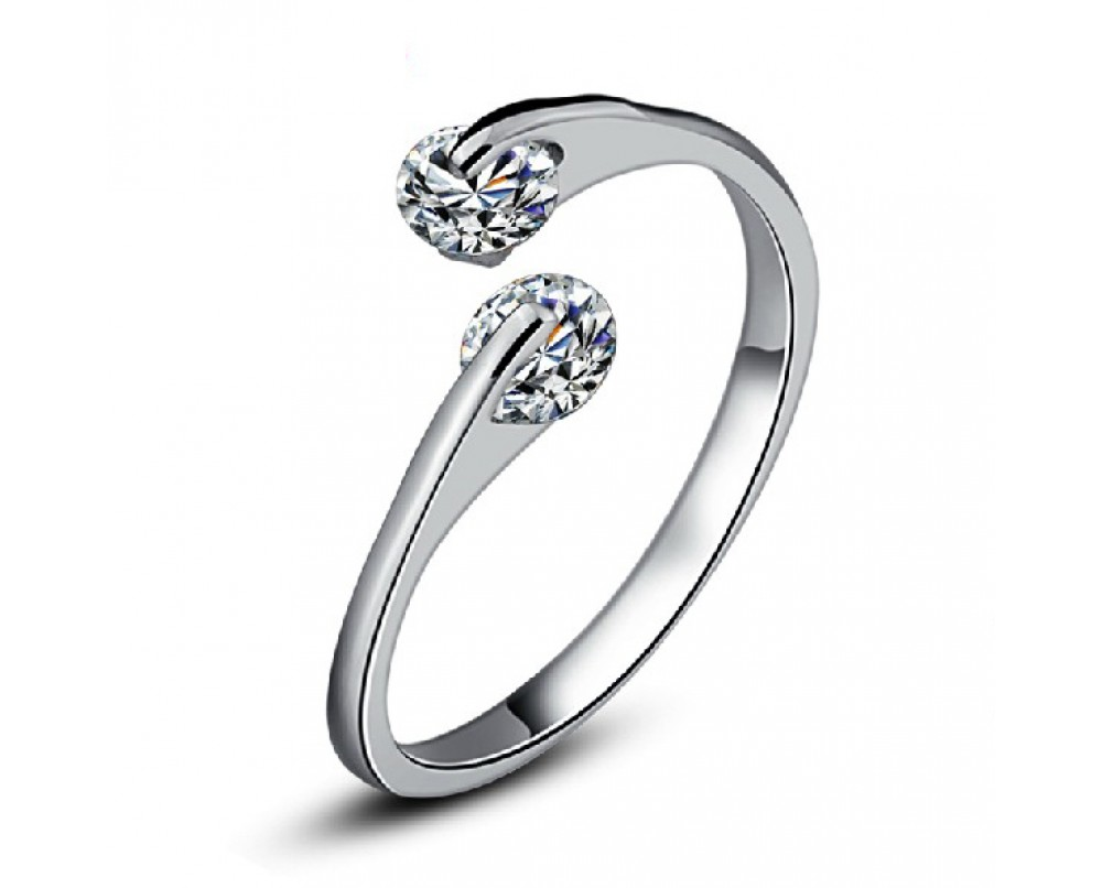 Lovely-Double Diamond-Ring