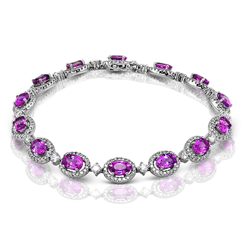 Pink-Sapphires--brcelets-for-women