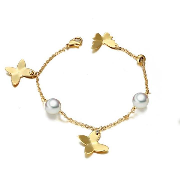 butterfly-and-pearl-bracelets-for-women