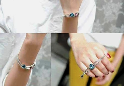 infinity-and-heart-bracelets-for-women