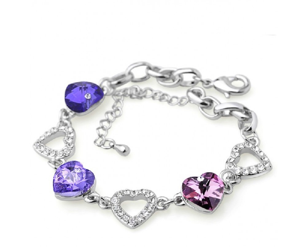 purple-bracelets-for-women