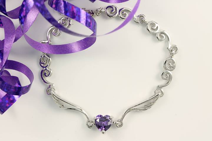 purple-wings- bracelet-for-women