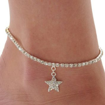 star-anklets-for-woman