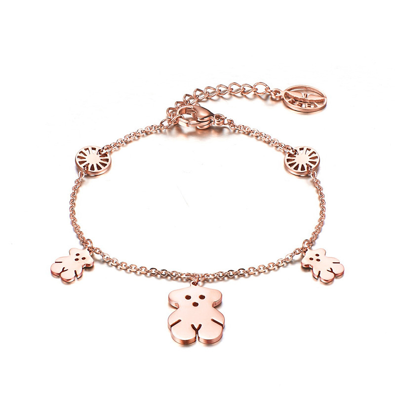 teddy-bracelet-Women-bracelets-18k-jewelry-free-shipping-FB038