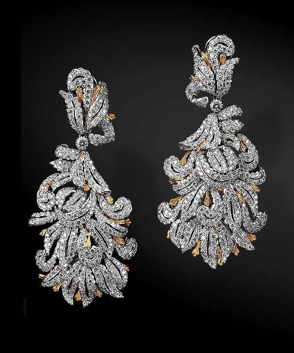 Buccellati Diamond Earrings For Women