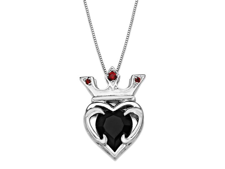 Crown-heart-necklace
