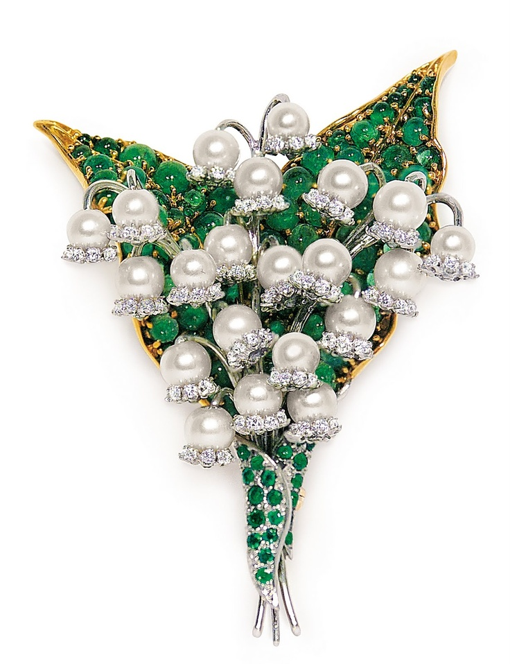 Fulco-di-Verdura-diamond-brooches