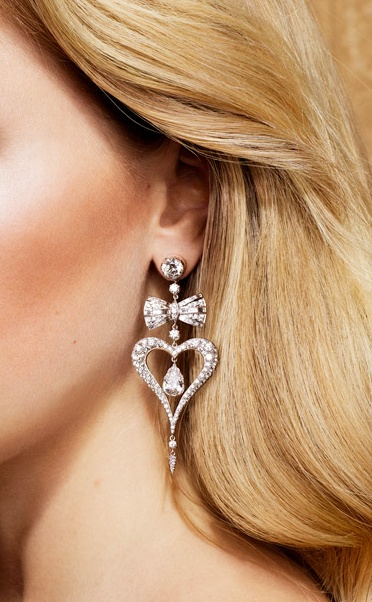 Heart-and-Bow-diamond-earrings-for-women