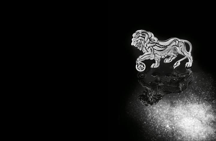 Lion-Céleste-diamond-brooches