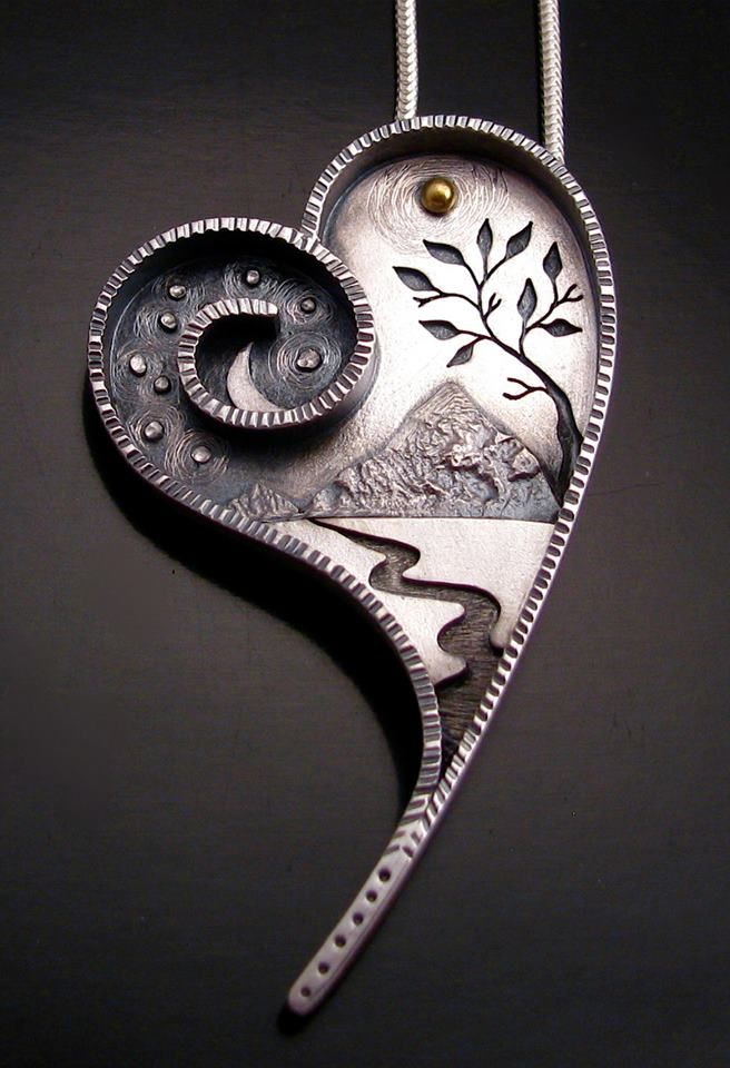 Painting-heart-necklace