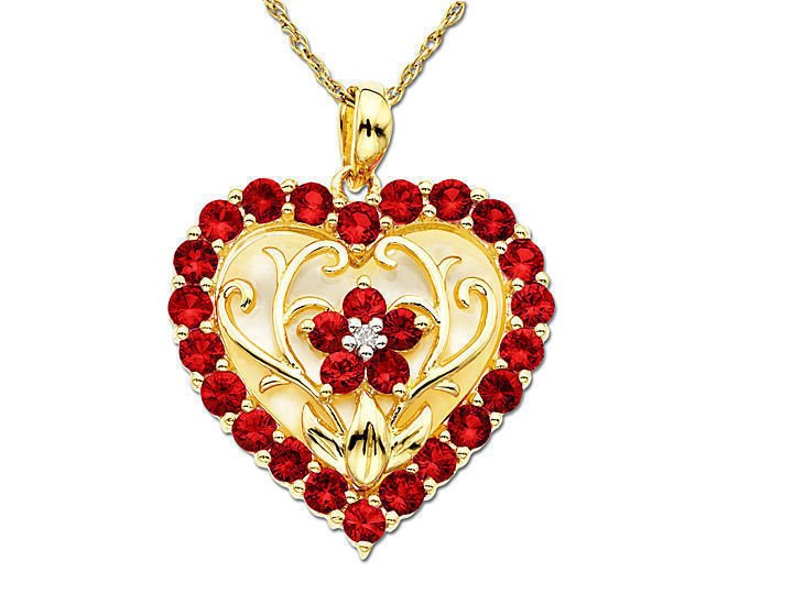 Radiant-red-heart-necklace