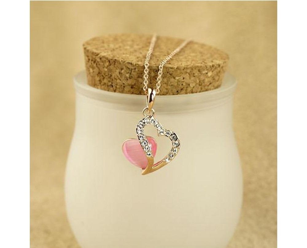 Romantic-heart-necklace
