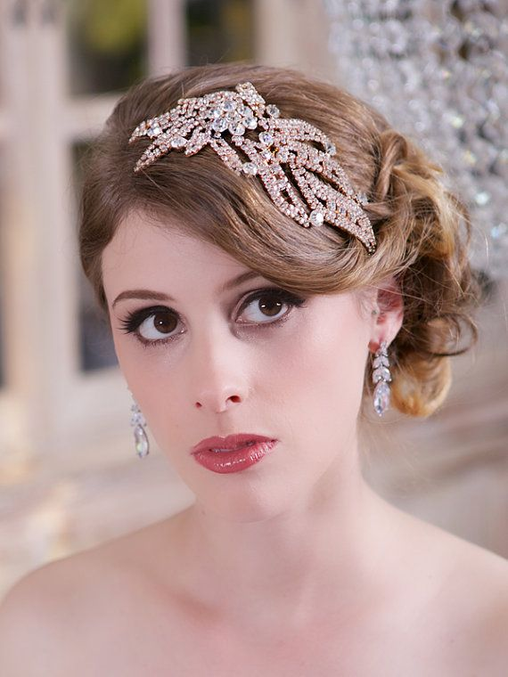 Rose-Gold-bridal-hair-bands