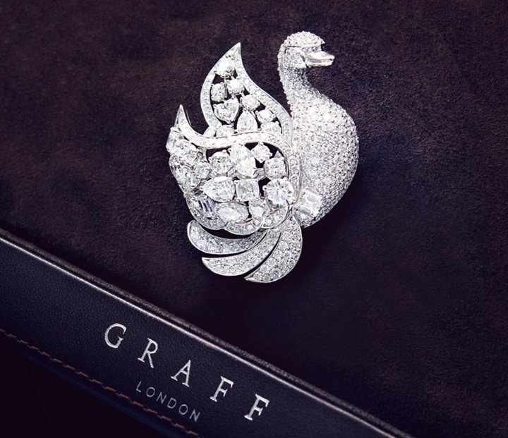 Swan-Brooches