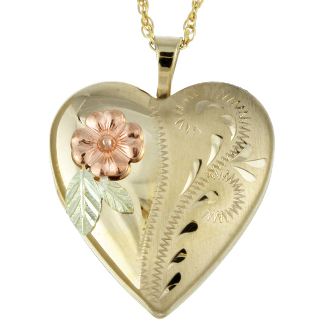Yellow-gold-heart-necklace