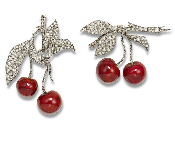 cherry-brooches