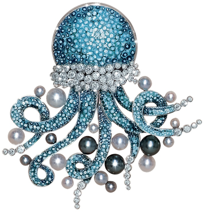 jellyfish-diamond-brooches