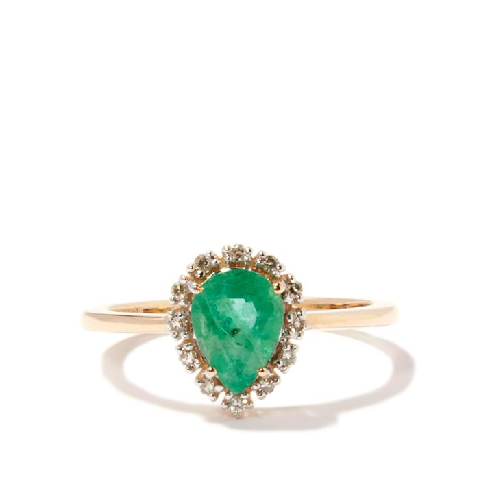 pear-emerald-rings