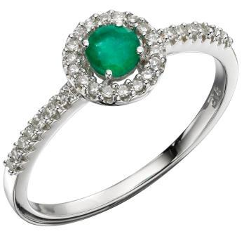 round-shape-emerald-rings