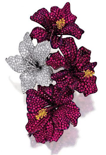 ruby-and-diamond-brooches