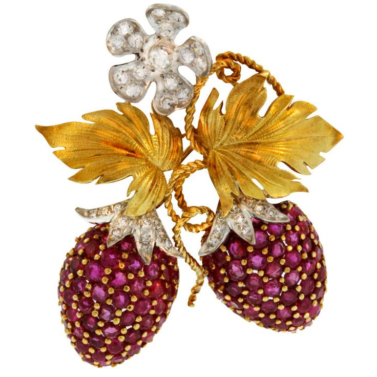 strawberries-diamond-brooches