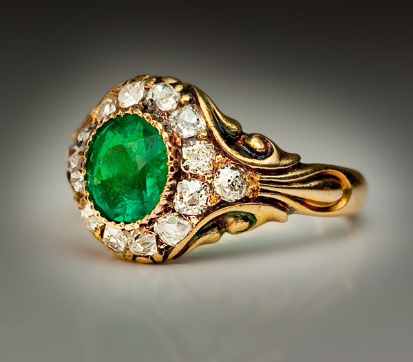 victorian-era-emerald-rings