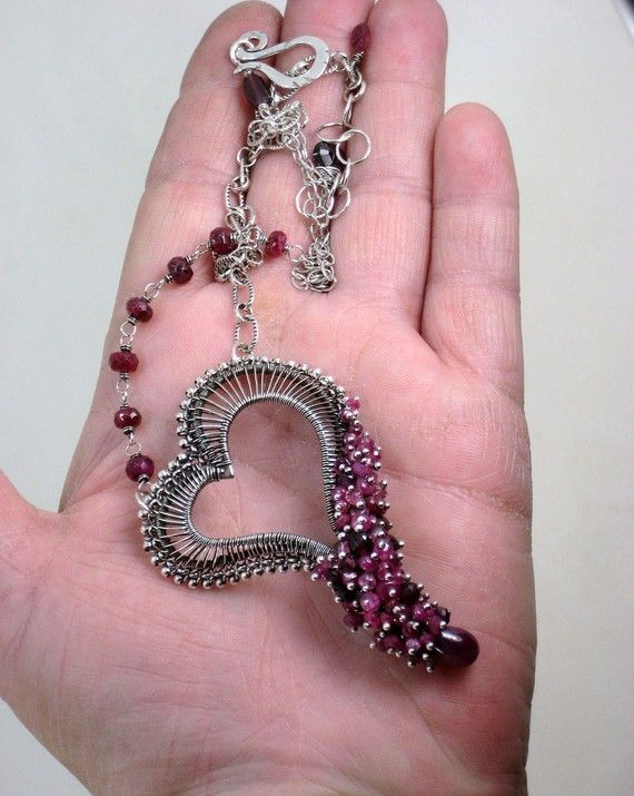 wire-wraped-heart-necklace